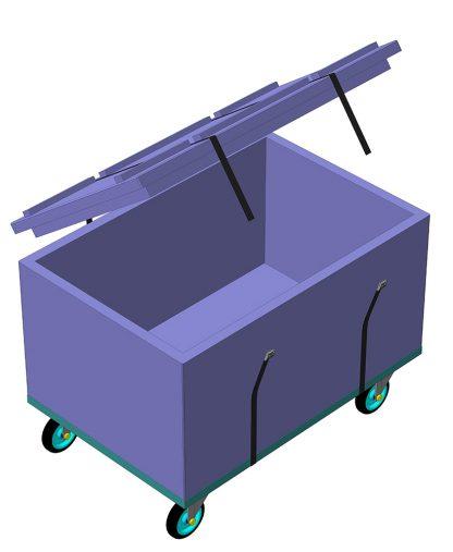 сверхлегкий, база, контейнер, ящик, упаковка, бокс, армпром, промышленный бокс, Украина
