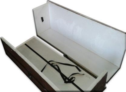 Пенополистирольный ящик , длинный, длинная тара, упаковка, тара для труб, перевозка продолговатых предметов