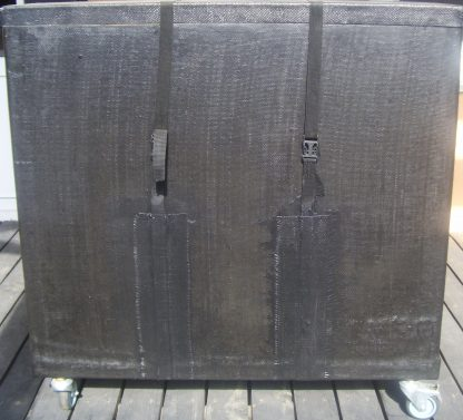контейнер, колеса, транспорт, коробка, пенопласт, перевозка