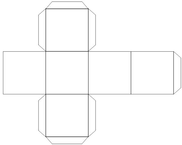 Как сделать своими руками кубик из бумаги